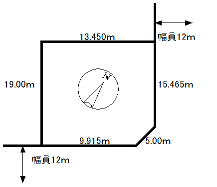 売土地 錦岡521