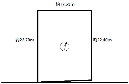 売土地 もえぎ町1丁目 86.37坪